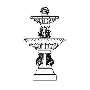 Fountain - Small Double