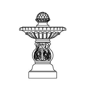 Fountain - Small Single
