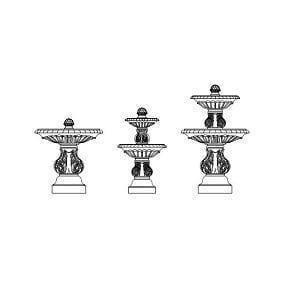 Fountain Triple Component