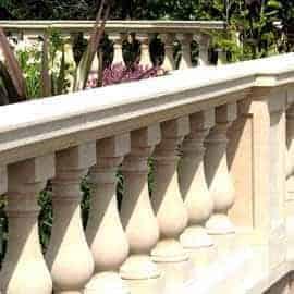 balustrade acanthus cast stone