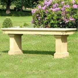 benches acanthus cast stone