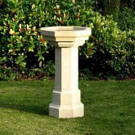 bird baths acanthus cast stone