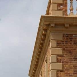 blocks quoins acanthus cast stone