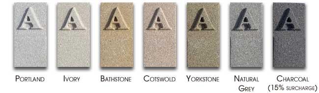 order cast stone samples