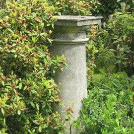 plinths pedestals acanthus cast stone