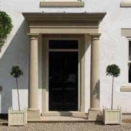 porticos acanthus cast stone