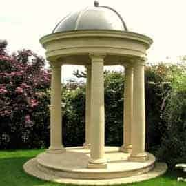 temples acanthus cast stone