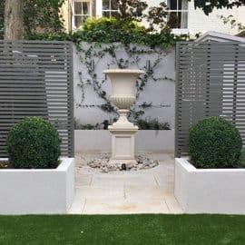 urns planter acanthus cast stone