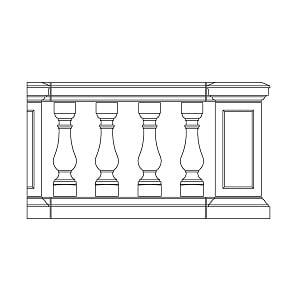 Apex Rail Deep Plinth