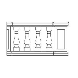 Apex Rail Shallow Plinth