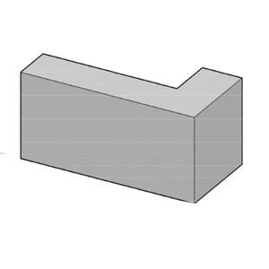 Cast Stone Built In Quoins