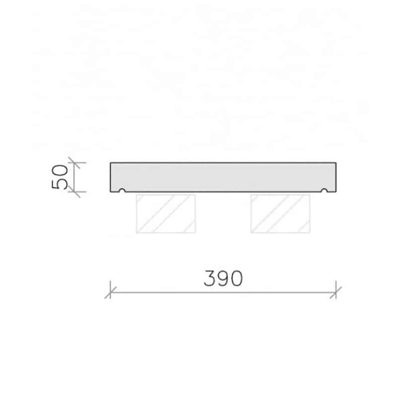 CS21-Plain-Flat-Top-Coping-Stone-Acanthus-Cast-Stone-