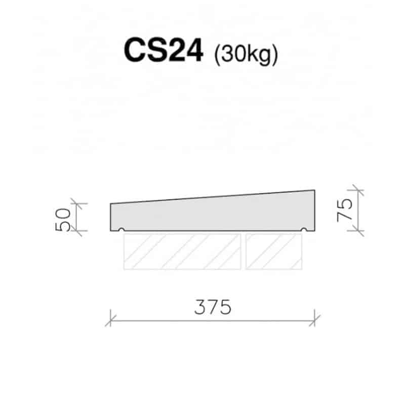 CS24-Plain-Once-Weathered-Coping-Stone-Acanthus-Cast-Stone-