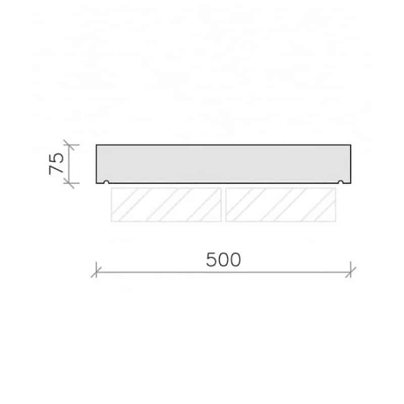 CS41-Plain-Flat-Top-Coping-Stone-Acanthus-Cast-Stone