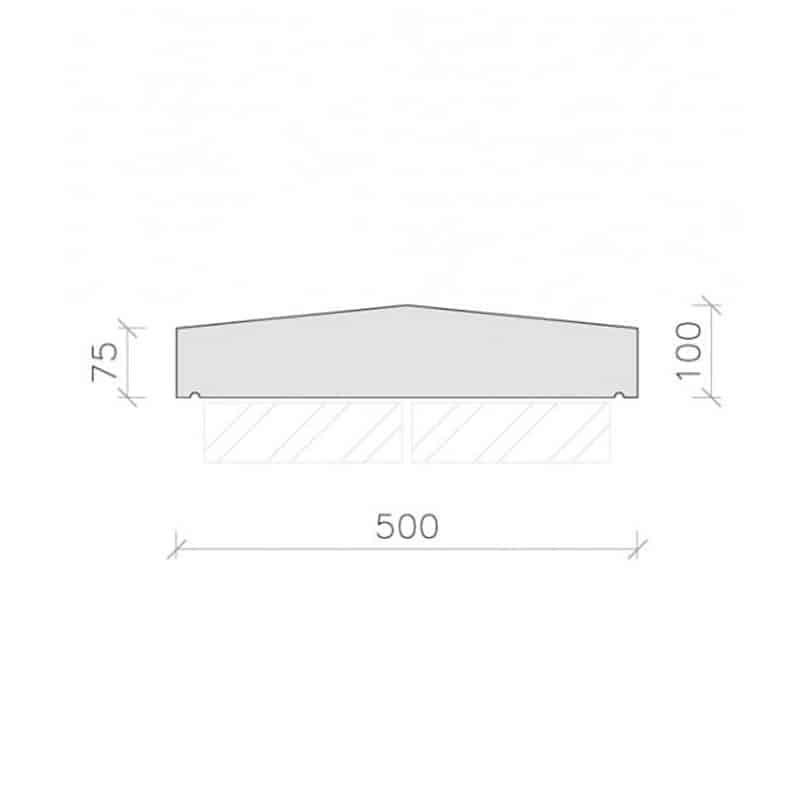 CS43-Plain-Apex-Coping-Stone-Acanthus-Cast-Stone