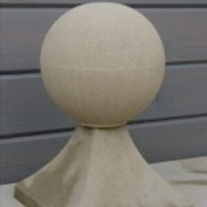 FN1-Ball-and-Base---180mm-Diameter-Acanthus-Cast-Stone