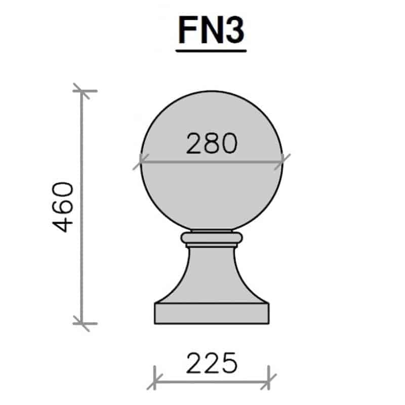 FN3-Ball-and-Base-1-280mm-Diameter-Acanthus-Cast-Stone