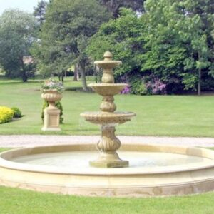 FT40-Large-Triple-Bowl-Fountain-Acanthus-Cast-Stone