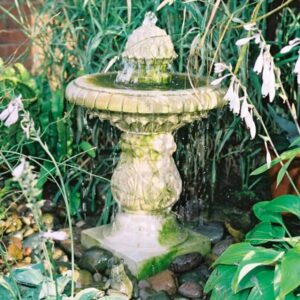 FT41-Small-Single-Bowl-Fountain-Acanthus-Cast-Stone
