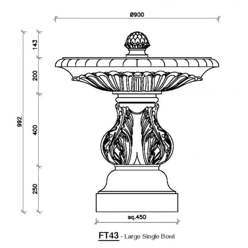 FT43-Large-Single-Bowl-Fountain-1-Acanthus-Cast-Stone
