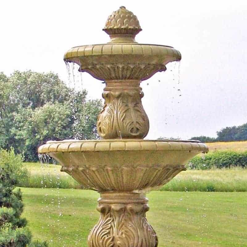 FT44-Small-Double-Bowl-Fountain-1-Acanthus-Cast-Stone