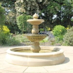 FT44-Small-Double-Bowl-Fountain-Acanthus-Cast-Stone