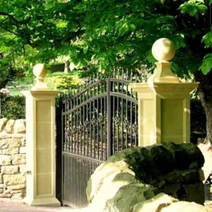 GPT-Tuscan-Gate-Pillar-with-FN2-Ball-and-Base-Acanthus-Cast-Stone