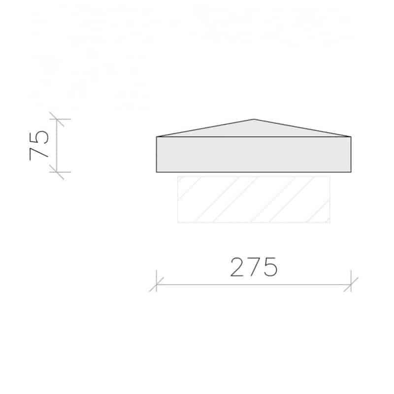 PC1040-Plain-Apex-Pier-Cap-Acanthus-Cast-Stone