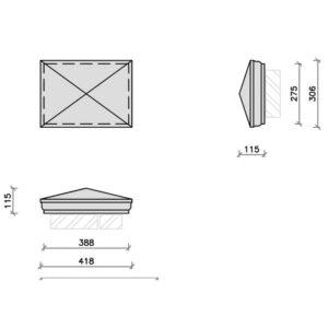 PC15-10R-Moulded-Apex-Rectangular-Pier-Cap-Acanthus-Cast-Stone