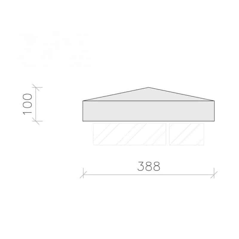 PC1540-Plain-Apex-Pier-Cap-Acanthus-Cast-Stone