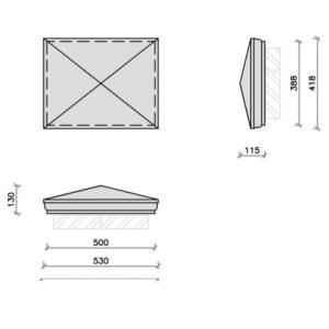 PC20-15R-Moulded-Apex-Rectangular-Pier-Cap-Acanthus-Cast-Stone