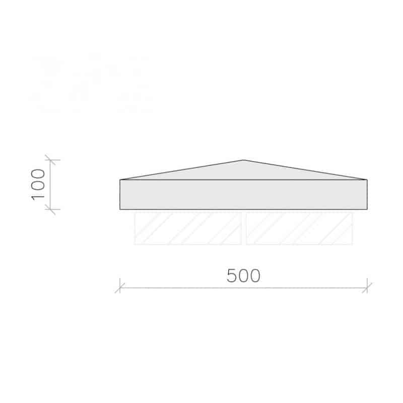 PC2040-Plain-Apex-Pier-Cap-Acanthus-Cast-Stone