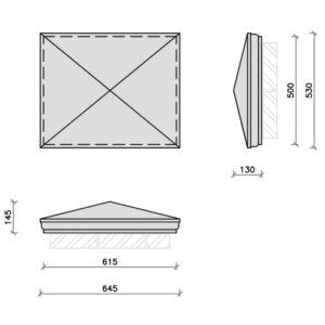 PC25-20R-Moulded-Apex-Rectangular-Pier-Cap-Acanthus-Cast-Stone