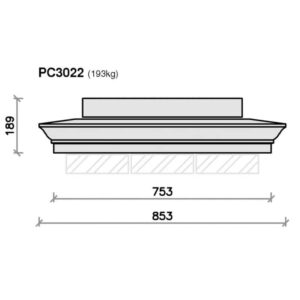 PC3022-Moulded-Apex-Plus-Pier-Block-Pier-Cap-Acanthus-Cast-Stone