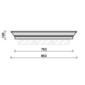 PC3024-3-brick-pier-cap