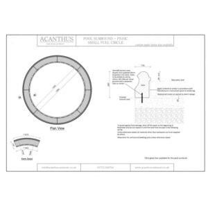 PS10C-Small-Circular-Pool-Surround-Set---1200mm-Internal-Diameter-Acanthus-Cast-Stone