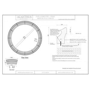 PS20C-Medium-Circular-Pool-Surround-Set---1800mm-Internal-Diameter-Acanthus-Cast-Stone