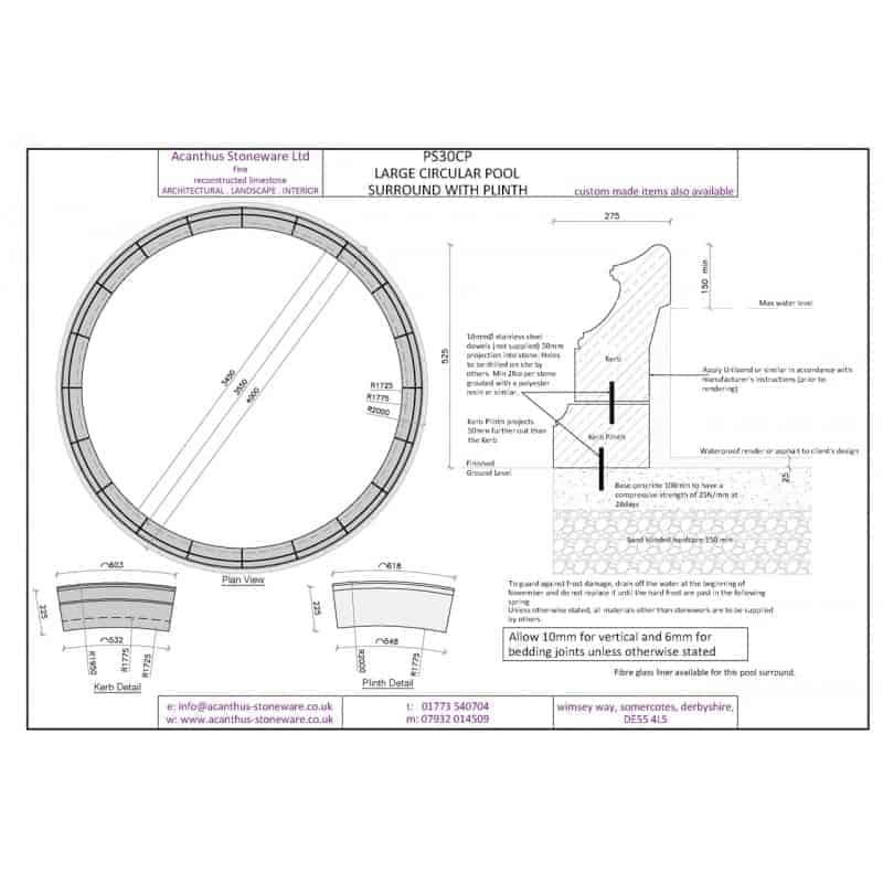 PS30C-Large-Circular-Pool-Surround-Set-1-3450mm-Internal-Diameter-Acanthus-Cast-Stone
