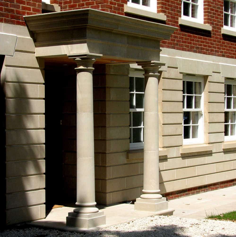 Upgrade your property with a Cast Stone Portico-acanthus-cast-stone