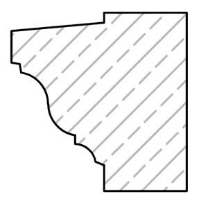 cast-stone-Cornice-Drawing-acanthus-cast-stone