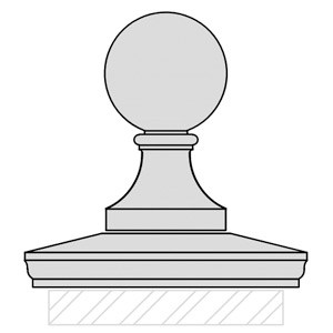 cast-stone-Finial-with-Pier-Cap-drawing-acanthus-cast-stone