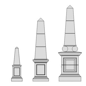 cast-stone-Obelisk-drawings-acanthus-cast-stone