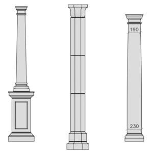 cast-stone-columns-drawings-acanthus-cast-stone