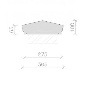 CS14-Moulded-Apex-Coping-Stone-Acanthus-Cast-Stone-