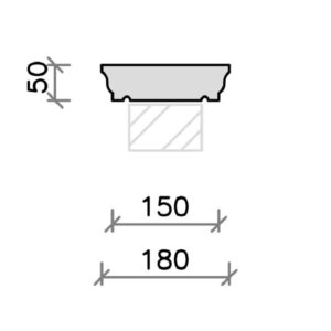 cs04b-moulded-flat-top-coping-stone