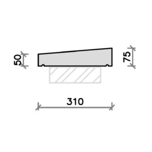 cs12A-plain-flat-coping-stone-for-rendered-walls